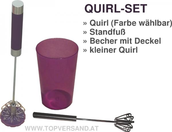 Quirl SET in verschiedenen Farben