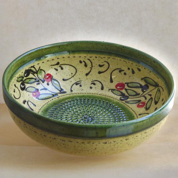 Keramikreibe-Schüssel DUNA