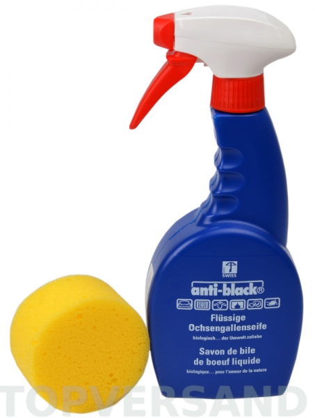 Anti-Black Ochsengallenseife 500ml, flüssig
